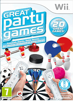 Great Party Games Wii Cover Art