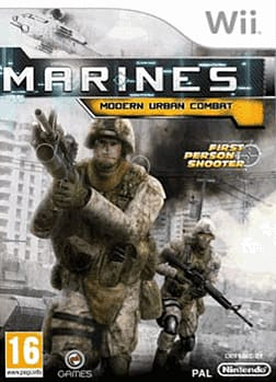 Marines: Modern Urban Combat Wii Cover Art