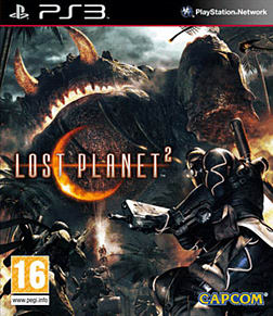 Lost Planet 2 PlayStation 3 Cover Art