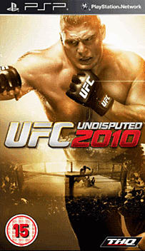 UFC Undisputed 2010 PSP Cover Art