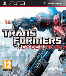 Transformers: War for Cybertron PlayStation 3 Cover Art