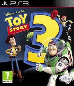 Toy Story 3 PlayStation 3 Cover Art