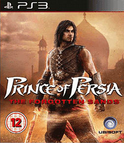 Prince of Persia: The Forgotten Sands PlayStation 3 Cover Art