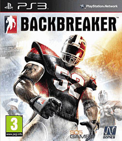 Backbreaker (GAME Exclusive) PlayStation 3 Cover Art