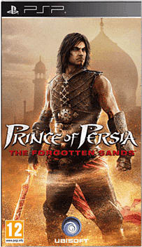 Prince of Persia: The Forgotten Sands PSP Cover Art