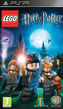 LEGO Harry Potter: Years 1-4 (including Harry Potter and the Philosopher's Stone DVD) PSP Cover Art