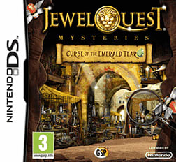 Jewel Quest Mysteries : Curse Of The Emerald Tear DSi and DS Lite Cover Art