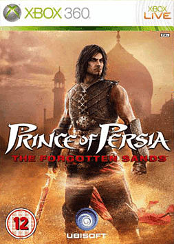 Prince of Persia: The Forgotten Sands Xbox 360 Cover Art