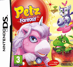 Petz Fantasy DSi and DS Lite Cover Art