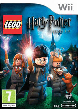 LEGO Harry Potter: Years 1 - 4 Wii Cover Art