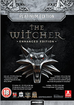 The Witcher Enhanced Edition: Platinum Edition PC Games and Downloads Cover Art