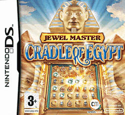 Jewel Master: Cradle of Egypt DSi and DS Lite Cover Art