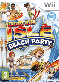 Vacation Isle: Beach Party Wii Cover Art