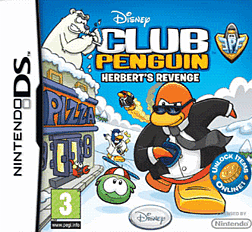 Club Penguin: Herberts Revenge DSi and DS Lite Cover Art