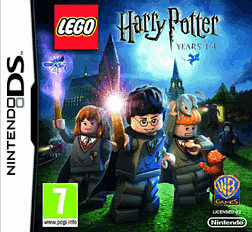LEGO Harry Potter: Years 1-4 DSi and DS Lite Cover Art