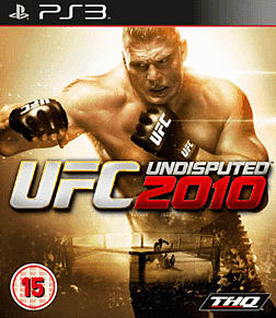 UFC 2010 Undisputed GAME Exclusive Special Edition PlayStation 3 Cover Art