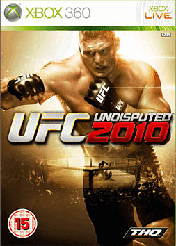 UFC 2010 Undisputed GAME Exclusive Special Edition Xbox 360 Cover Art