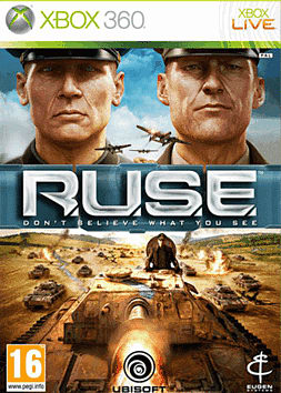 R.U.S.E Xbox 360 Cover Art