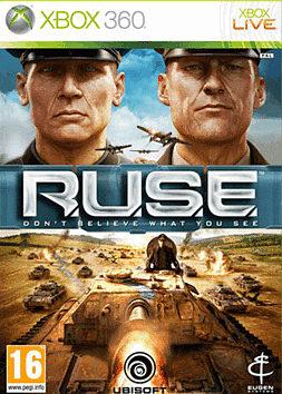 R.U.S.E Xbox 360 Cover Art