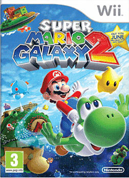 Super Mario Galaxy 2 Wii Cover Art