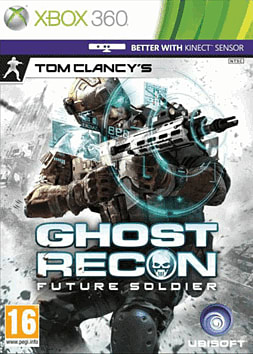 Tom Clancy's Ghost Recon: Future Soldier Xbox 360 Cover Art