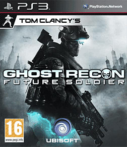 Tom Clancy's Ghost Recon: Future Soldier PlayStation 3 Cover Art
