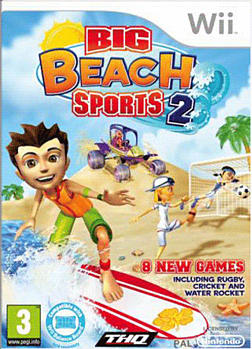 Big Beach Sports 2 Wii Cover Art