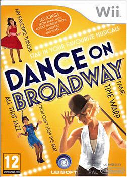 Dance on Broadway Wii Cover Art