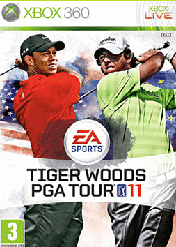 Tiger Woods PGA Tour 11 Xbox 360 Cover Art