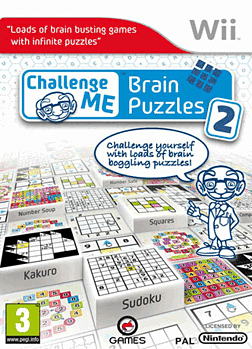 Challenge Me: Brain Puzzles 2 Wii Cover Art