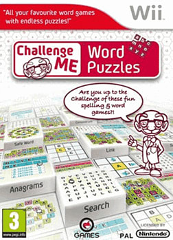 Challenge Me: Word Puzzles Wii Cover Art