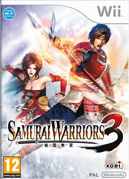Samurai Warriors 3 Wii Cover Art