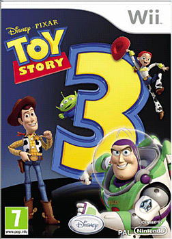 Disney PIXAR Toy Story 3: The Game Wii Cover Art