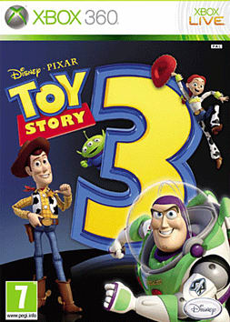 Toy Story 3 Xbox 360 Cover Art