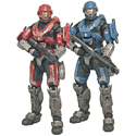 Halo Reach Spartan Double Pack Toys and Gadgets