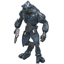 Halo Reach Elite Figure Toys and Gadgets