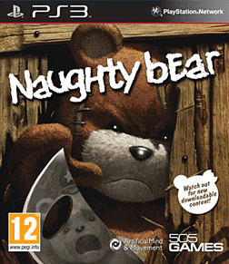Naughty Bear PlayStation 3 Cover Art