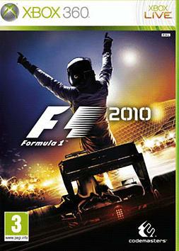 360 F1 2010 Xbox 360 Cover Art