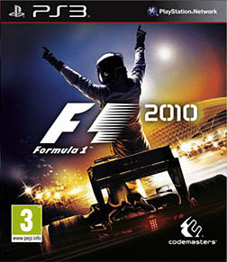 Formula 1 2010 PlayStation 3 Cover Art