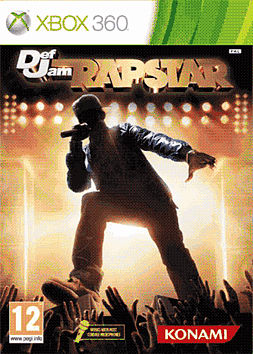 Def Jam Rapstar Xbox 360 Cover Art