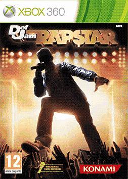 Def Jam Rapstar Xbox 360 Cover Art