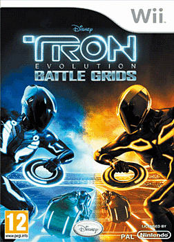 Tron Evolution Wii Cover Art