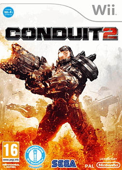 The Conduit 2 Wii Cover Art