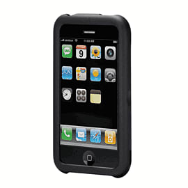 Hardskin Open Face for iPhone 3G/3Gs - (Black) Electronics