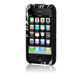 Hardskin Inked iPhone 3G/3Gs - Spira (Black) Electronics