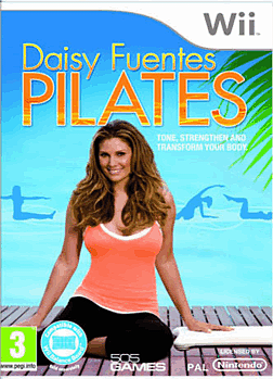 Daisy Lafuente Pilates Wii Cover Art