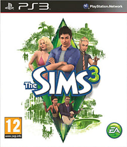 The Sims 3 PlayStation 3 Cover Art