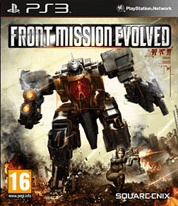 Front Mission Evolved PlayStation 3 Cover Art