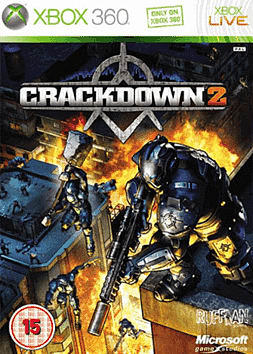Crackdown 2 Xbox 360 Cover Art