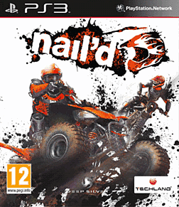 Nail'd PlayStation 3 Cover Art